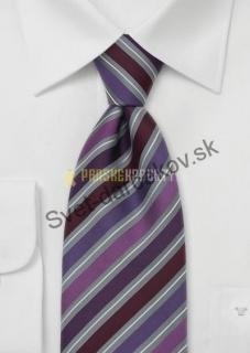 b02d1944f841 Scaletta fialovo červená kravata empty